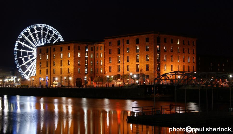 LIVERPOOL_Albert_Dock-Big_Wheel
